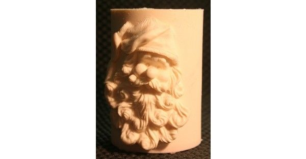 Bell Hat Fondant Candle Mold - Most designs are held in stock. Should you require a mold that is out of stock, we can pour a fresh one in less than 24 hours. If you require multiples of one design, we will tell you at the time of order the exact day your molds will be posted.
