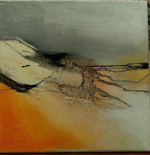 Agnes Lang Kunst Landschaft: Ebene Abstraktes Moderne Abstrakte Kunst Informel