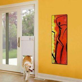 Automatic Sliding Door Opener For Pets