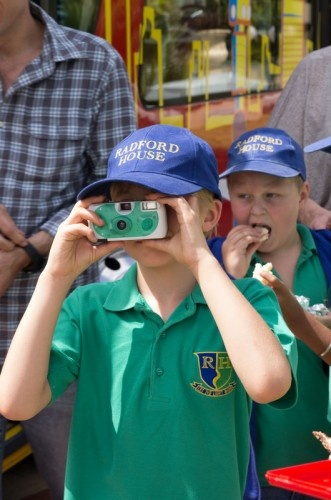 A student from Radford House School captures the exciting sights of Johannesburg.