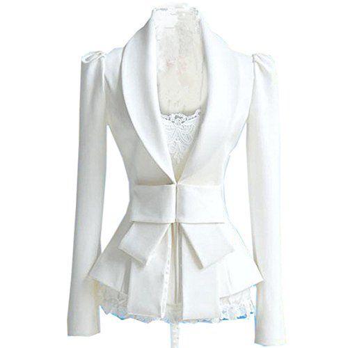 Partiss Womens Bowknot Blazer Small,White Fancy Dress Store http://www.amazon.com/dp/B00FFXKH3C/ref=cm_sw_r_pi_dp_qzc9wb1DBHDXV