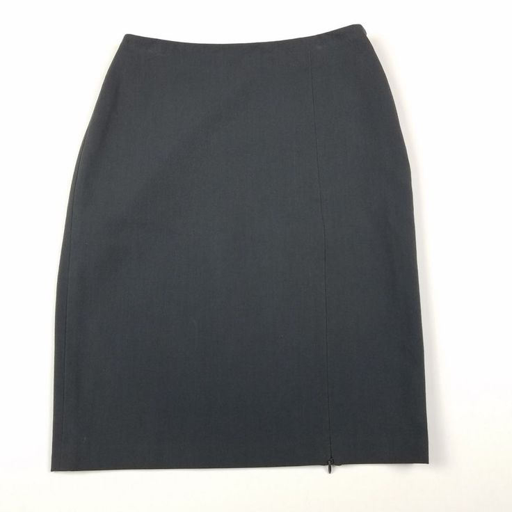 The Limited Stretch Skirt Size 2 Pencil Gray Straight Knee Length Womens I22 #TheLimited #StraightPencil