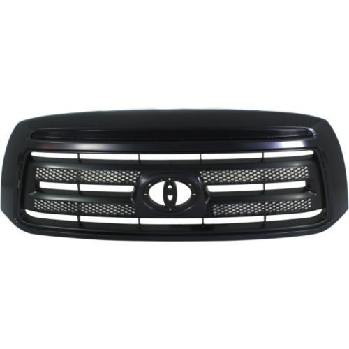 2010-2013 Toyota Tundra Grille, Painted-Black