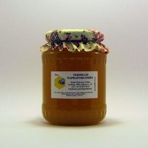 Napraforgóméz | Sági Méhészet aranysárga gyorsan kristályosodik mézeskalácshoz kíváló