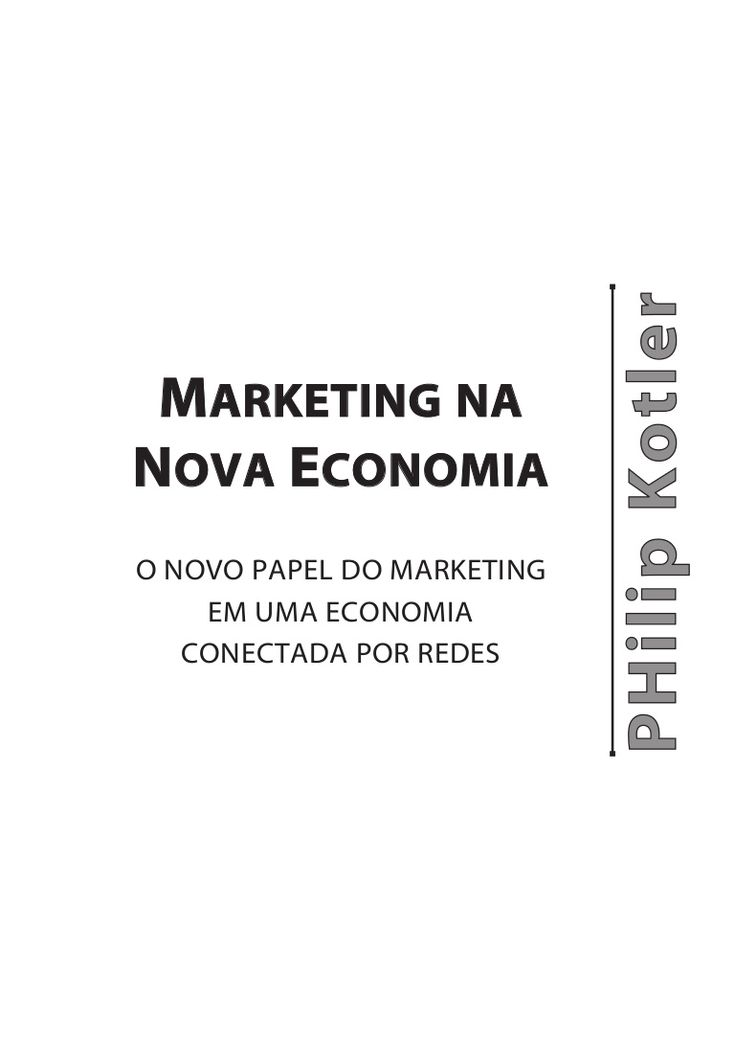 Marketing na nova economia_kotler
