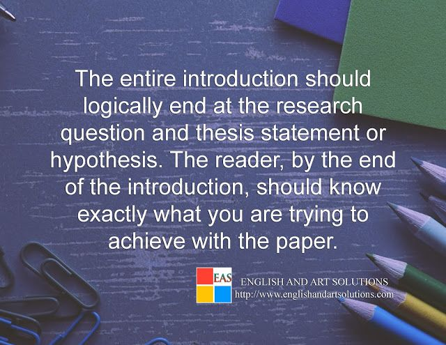 Research Paper Writing An Introduction Chapter 1 Estudio