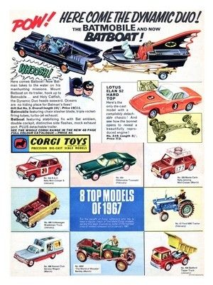 Corgi Toys 1966 Vintage Toy Advert