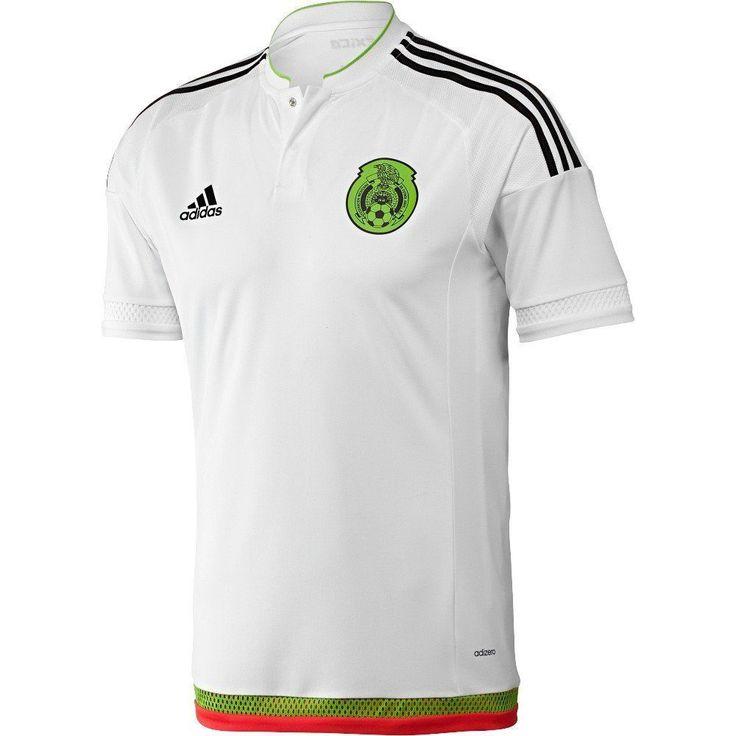 International Soccer Shirt Mexico Mens Jersey (XL) White/black ...
