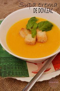 Supa crema de dovleac - RETETE DUKAN