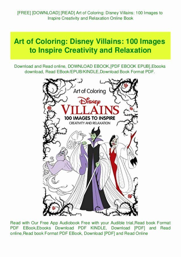 Disney Villains Coloring Book Fresh Free Download Read Art Of Coloring Disney Villains 100 In 2020 Coloring Books Disney Villains Books For Teens