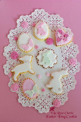 デコレーション教室 La Rose Cherie(ラ・ローズ・シェリー) -イースター アイシングクッキー