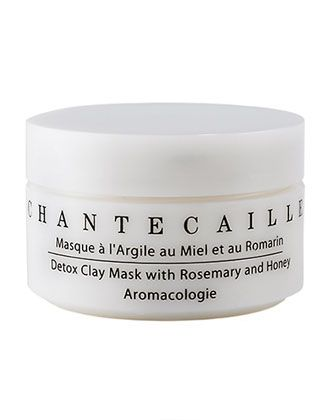 Chantecaille Detox Clay Mask with Rosemary and Honey, oz./ 50 g secrets Coffee Mask, Best Clay Mask, Clay Masks, Skin Tightening Cream, Luscious Hair, Home Remedies For Hair, Black Clay, Beauty Care