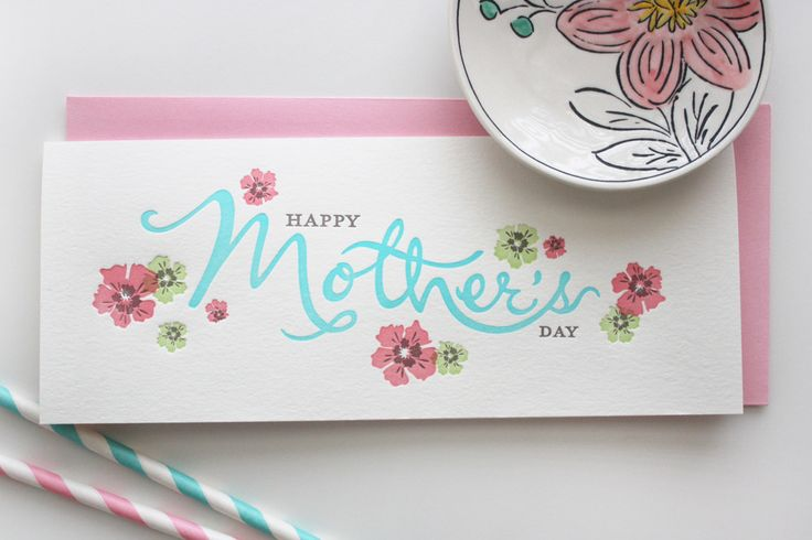 Mother Flowers Greeting Card // $3.25 each