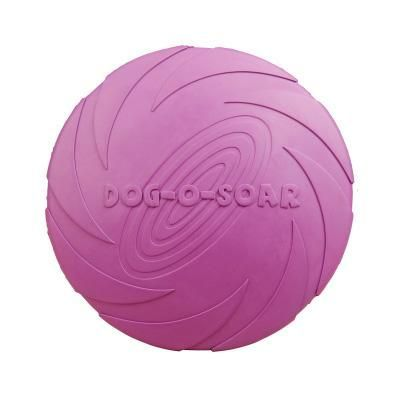 Rubber Frisbee Disc - Soft and Eco-Friendly