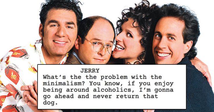 Someone programs predictive text to write Seinfeld episode