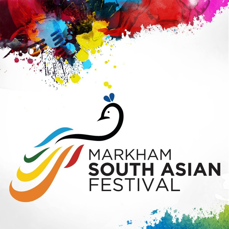 Markham South Asian Festival - Logo - [Starting as a buzz event for the India International Film Awards in 2011, this festival has evolved in to a full blown celebration and annual event designed to enthrall the residents of the city of Markham and the Greater Toronto Area. It showcases South Asian music, dance, literature, cinema, arts, food, clothes, and history through various entertainment and cultural exchanges.]