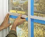 Do you want the old fashioned window look with divided panes? Here's the simplest method ever to get that look!