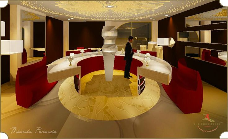 Render for a jewelry store at the Gold Souk,Dubai.