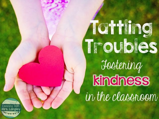 Do you have tattling troubles? No matter how many ways I have tried to cut down on tattling it always seems to creep it's way back into my classroom.  This year is no different.  I have decided to take a different approach this week and focus on KINDNESS.  Kindness is the key!