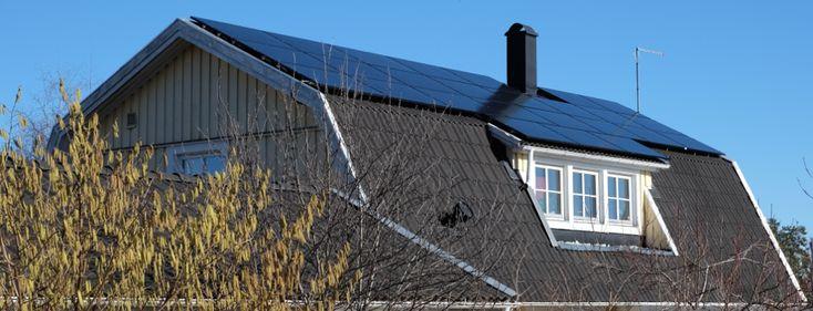 Villa med brutet tak – Mariefred 6,6 kW