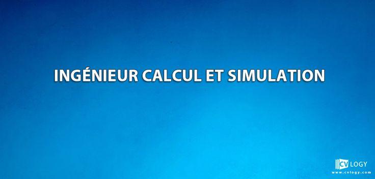 #Recrutement un #Ingénieur #calcul et #simulation----->