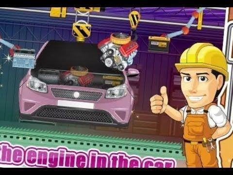 juegos para nios de simulador de la fbrica carros