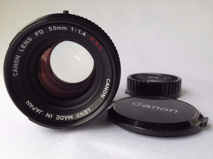 **EXC+++++** Canon FD 50mm f/1.4 S.S.C Lens From Japan #Canon