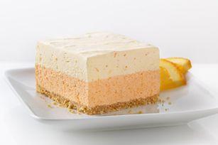 Orange Dream Layered SquaresJello Recipe, Layered Squares, Dreams Layered, Squares Recipe, Fun Recipe, Orange Dreams, Summer Desserts, Layered Desserts, Summer Treats