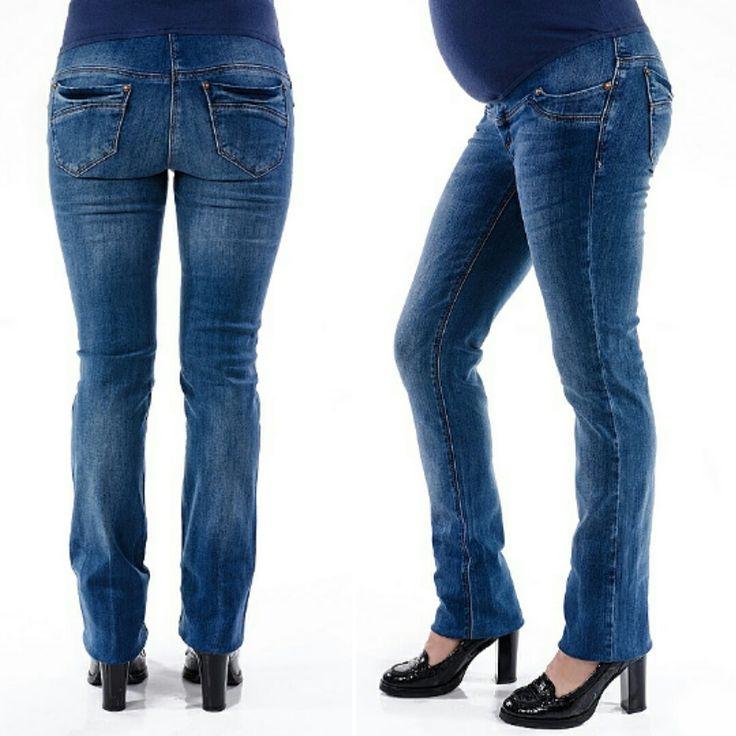 Джинсы для беременных прямого силуэта. Цена 750 грн #прямыеджинсы #джинсыдлябеременных #одеждадлябеременныхукраина