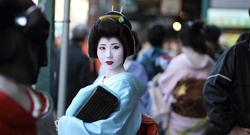 My favorite Geiko of all time, Mamehana-san, who has recently retired.