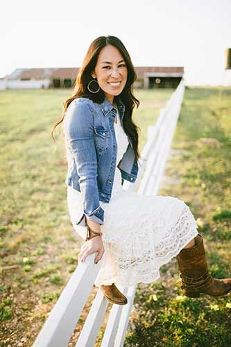 Chip and Joanna Gaines from Fixer Upper Our Story