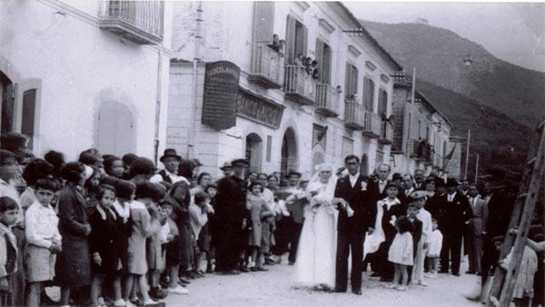 Foto d'epoca di Mercato S.Severino.