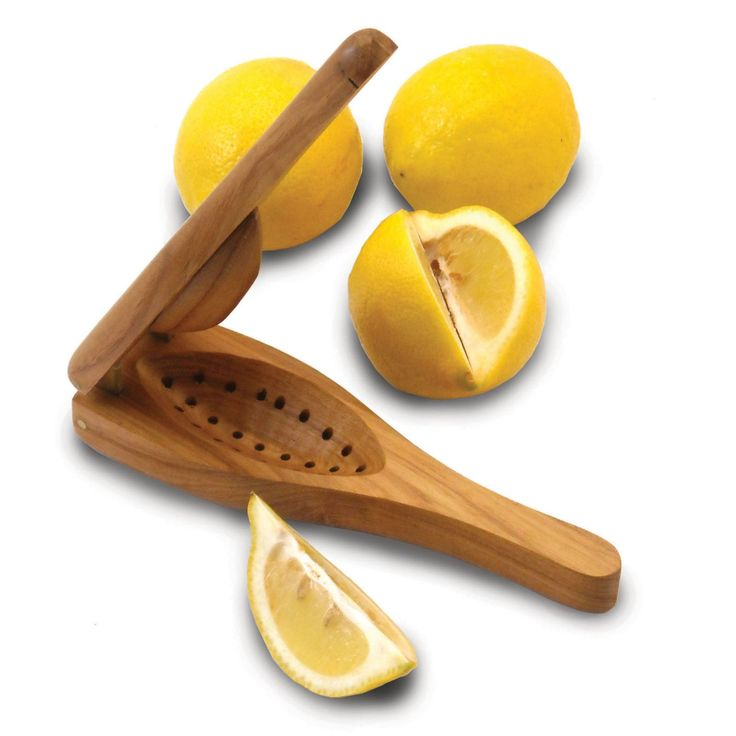 Enrico EcoTeak Wood Lemon Squeezer - 1260