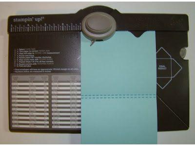 Envelope Punch Board Gift Card Holder - bjl