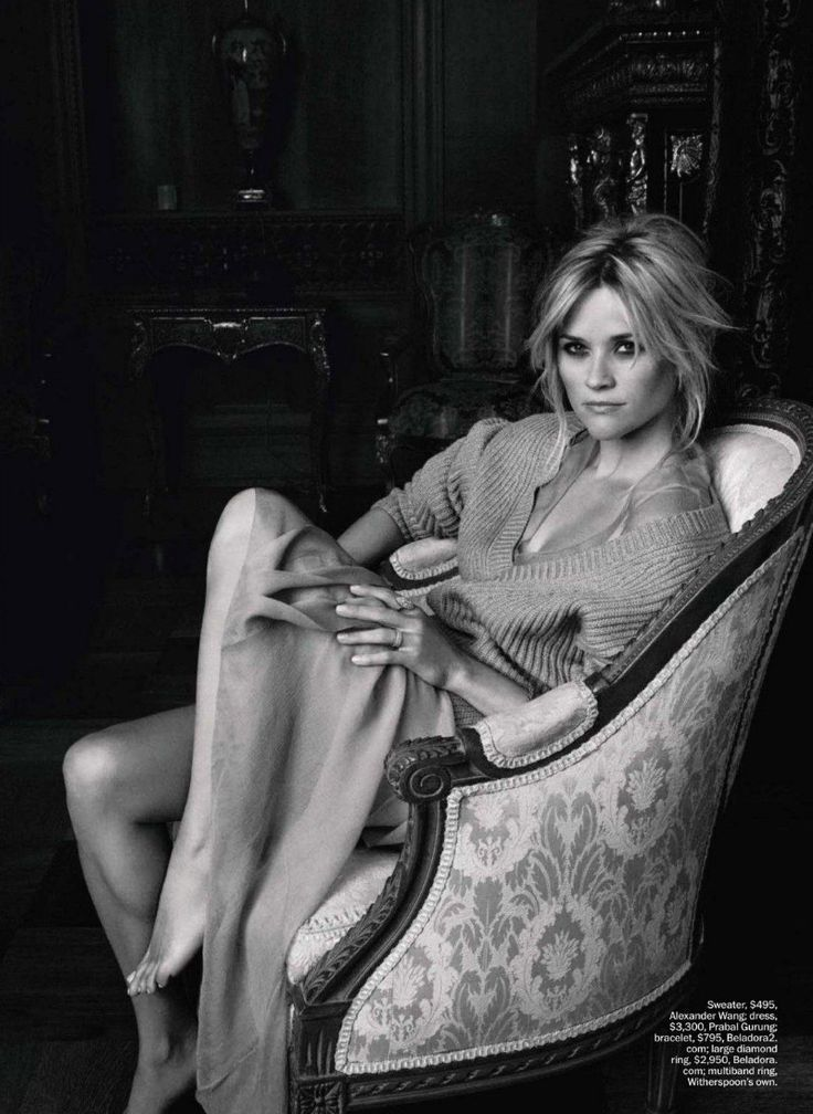 Reece Witherspoon by Tesh Marie Claire.