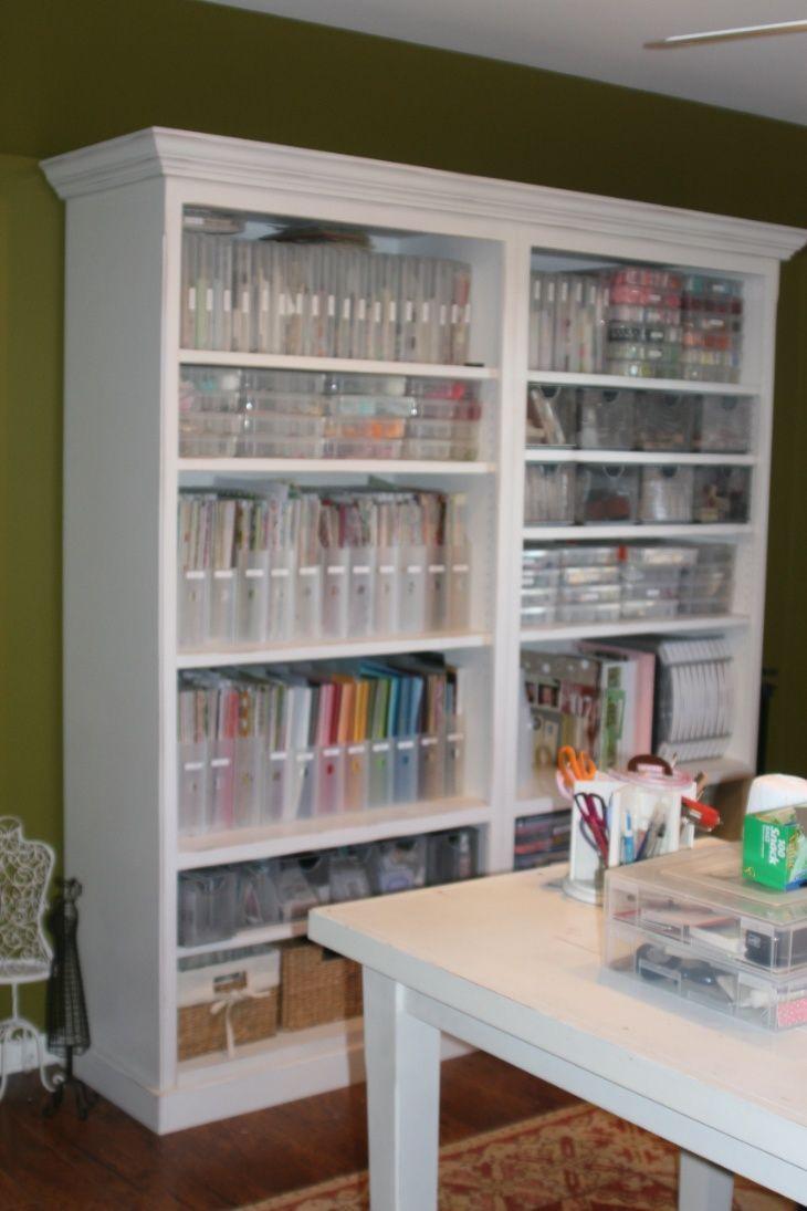 Craft closet organization ideas - Craft Storage Craft Closet Ideas