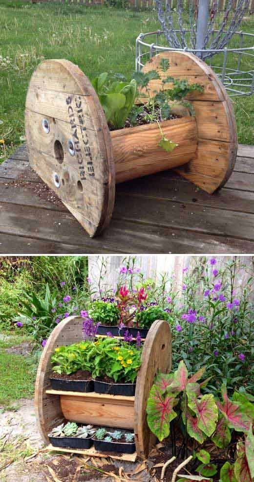 20 wirklich coole Ideen für DIY Gartenbetten und Pflanzgefäße – Home Design Inspiration