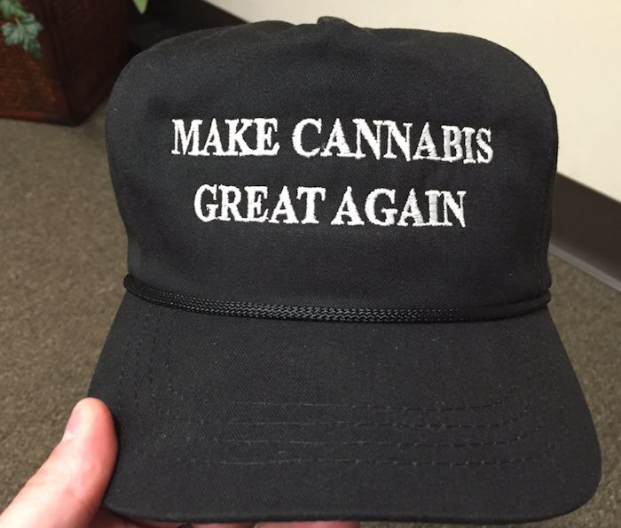 "GOP Representative Seen Sporting ""Make Cannabis Great Again"" Hat"