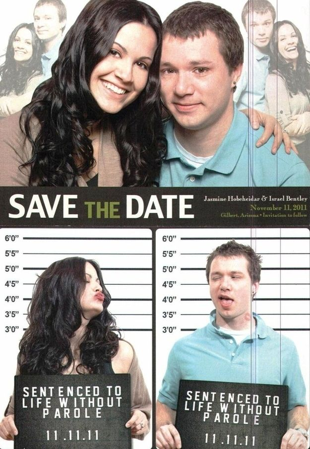 Go movie poster-inspired. | 25 Ways To Make Your Wedding Funnier