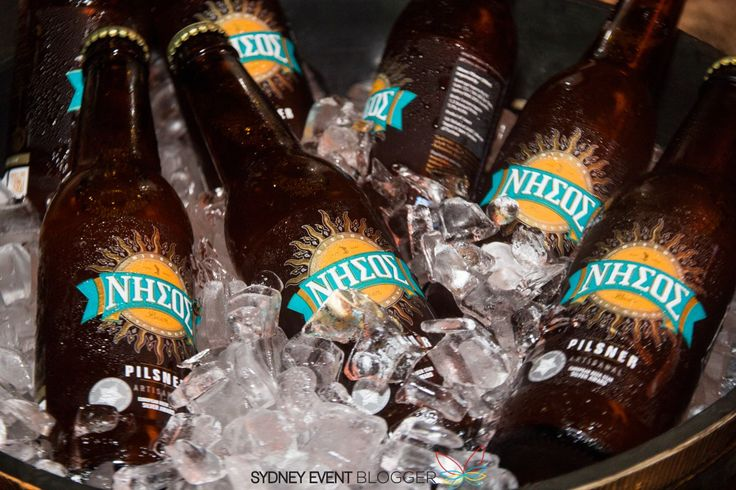 Award winning Nissos Beer launches in Sydney in true Greek style
