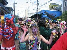 Mardi Gras:   (Also known as Shrove Tuesday or Fat Tuesday)     Mardi Gras celebrations in New Orleans, USA.   TypeChristian, cultural.   SignificanceCelebration prior to fasting season of Lent.  2012 dateFebruary 21,   CelebrationsParades, parties  Related toCarnival, Shrove Monday, Ash Wednesday, Lent, Maslenitsa