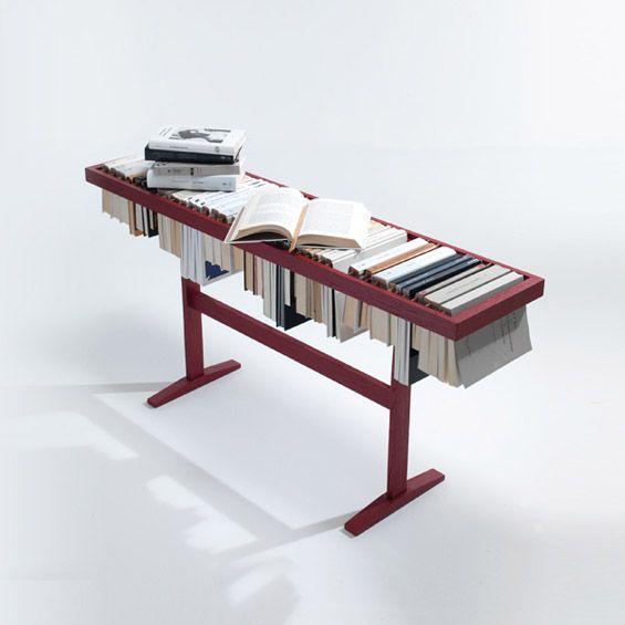 "Yael Mer et Shay Alkalay, les fondateurs du studio de design Raw Edges ont imaginé la bibliothèque ""Booken"". Une bibliothèque qui transgress..."