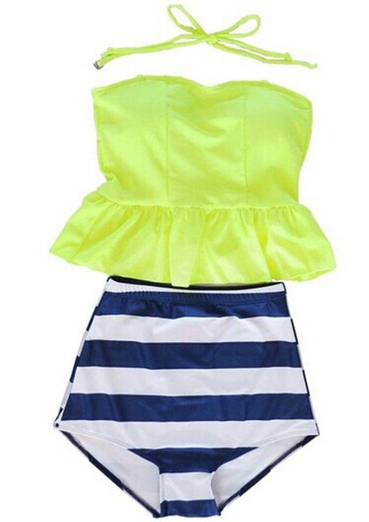 Swimwear Tragarse® juniors Two-Piece Push UP Tankini Swimsuit