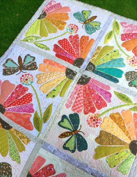 Garden Party Applique Quilts Quilt Patterns Quilts