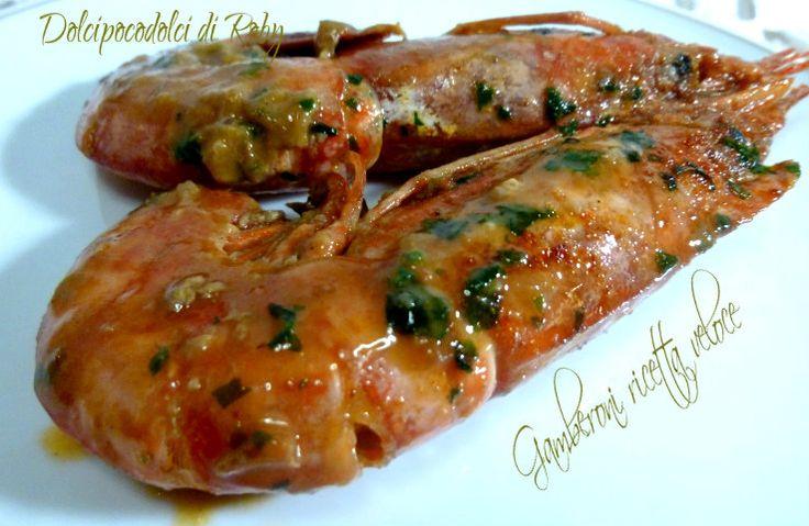 Gamberoni ricetta veloce