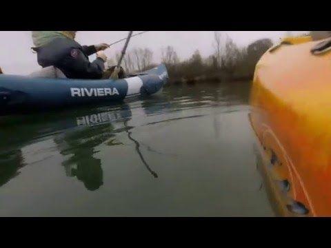 Pêche du Brochet en kayak en étang #brochet #etang #kayak