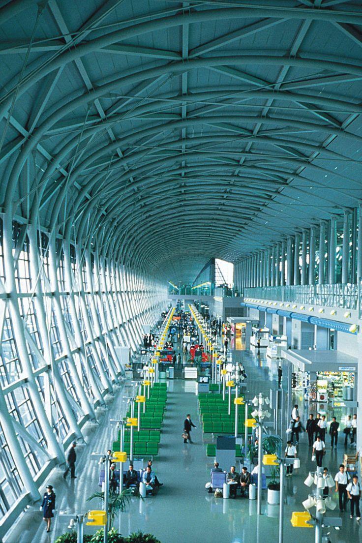 Aeroporto Osaka Renzo Piano : Ideas about kansai international airport on