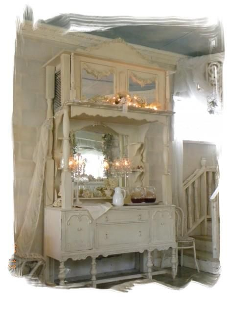 .: Chic Decor, Tea Time, Buffet, 470 632 Pixels, Tempting Tearooms, Shabby Chic, Vintage, Dream Tearoom, Furniture