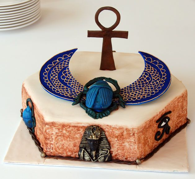 43 Best Egyptian Cake Ideas Images On Pinterest