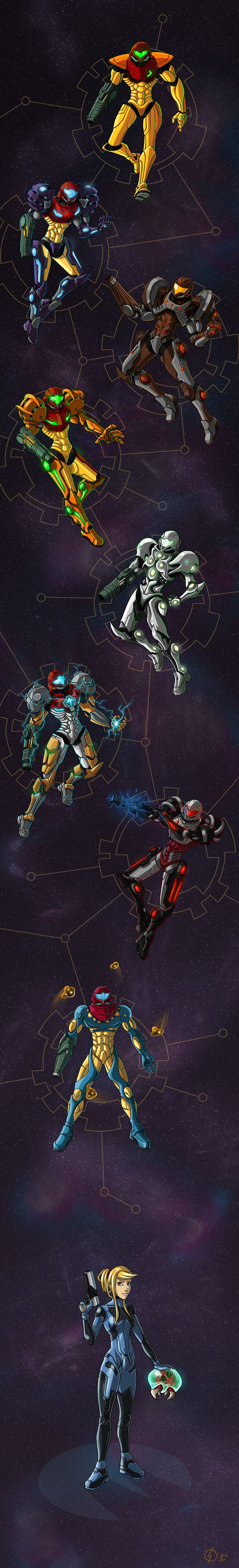 Metroid : Armored Heart by Arrarra.deviantart.com on @deviantART